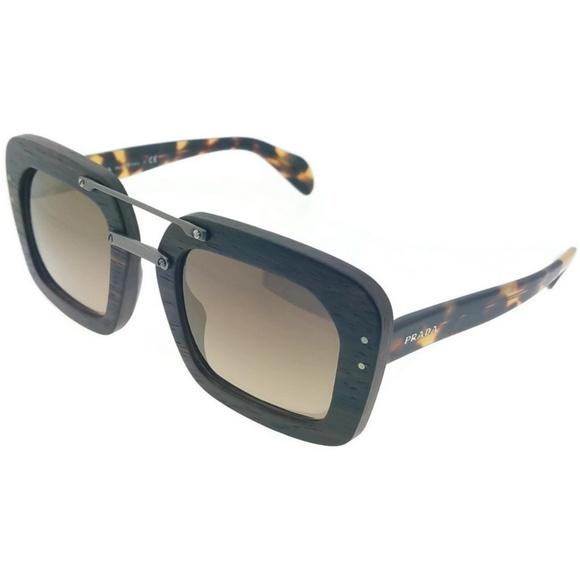 517f944f058c PRADA Accessories | Pr30rsubt4o2 Raw Womens Black Frame Sunglasses ...